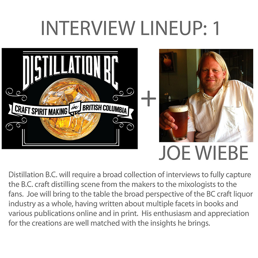 Interview 1 - Joe Wiebe, writer