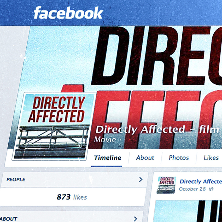 Directly Affected Facebook Page