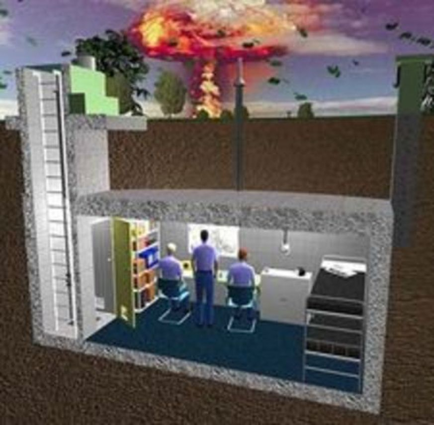 Game Build Your Own Bomb Shelter