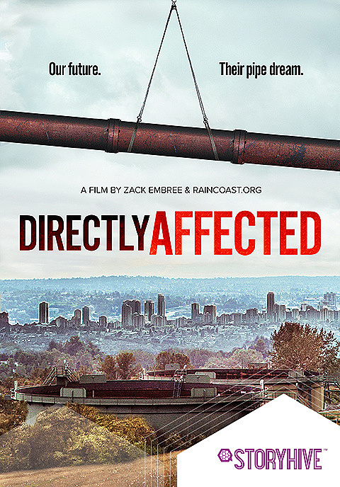 Directly Affected: Voices for our coast Box Art image