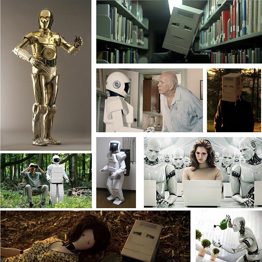 Actor inside Robot