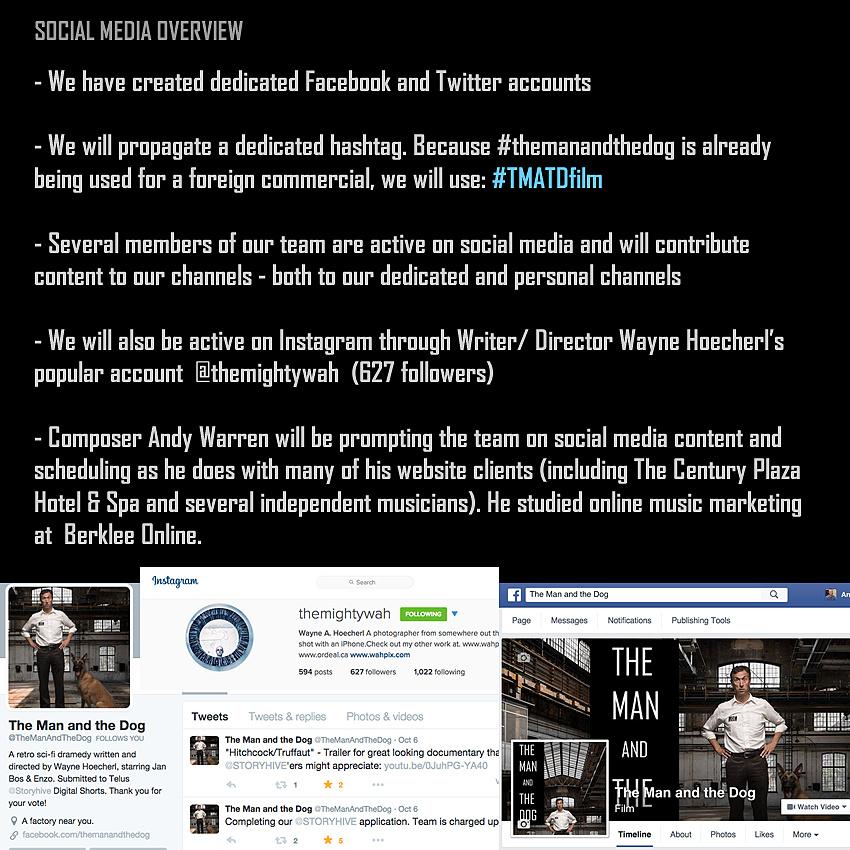 #TMATDfilm Social Media Overview