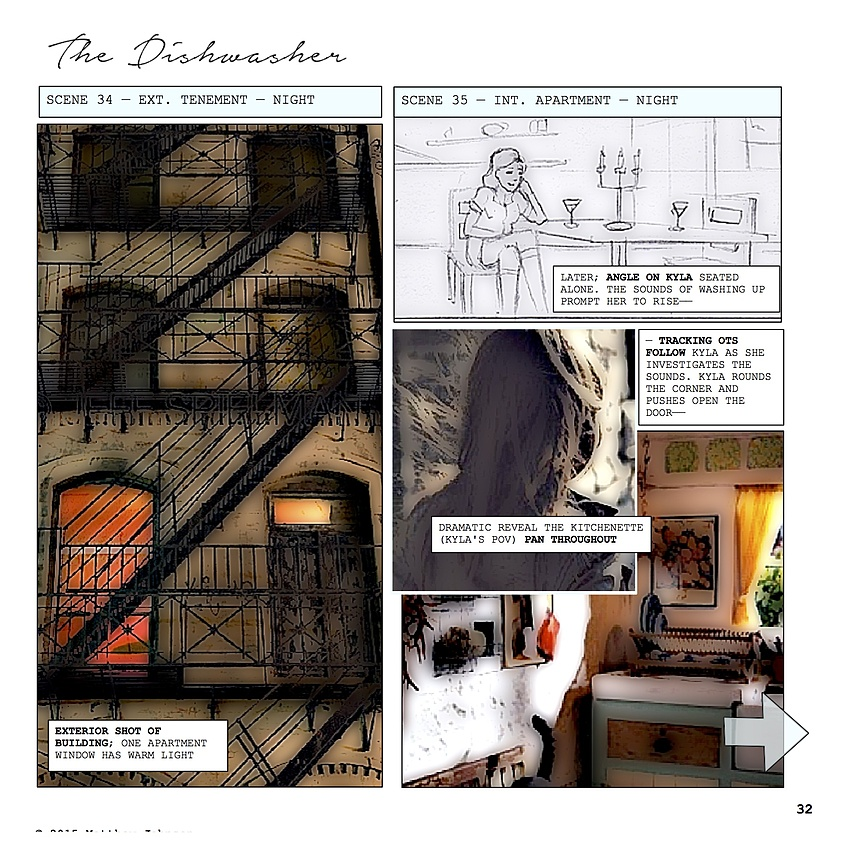 Storyboard 9 — Max's Kitchenette