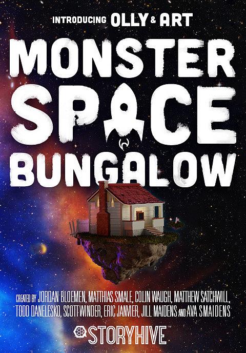 Monster Space Bungalow Box Art image