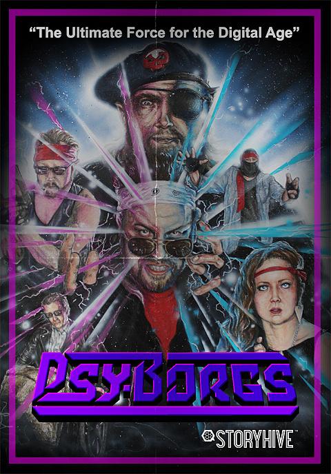 PsyBorgs Box Art image