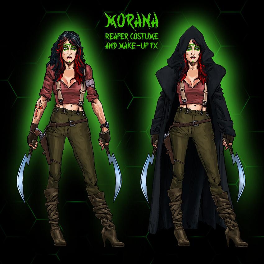 Morana - Reaper Cloak Concept Design