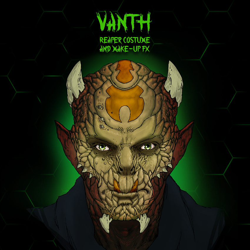 Vanth - Reaper Make-Up FX & Costume