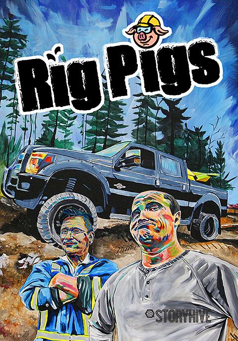 Rig Pigs Box Art image