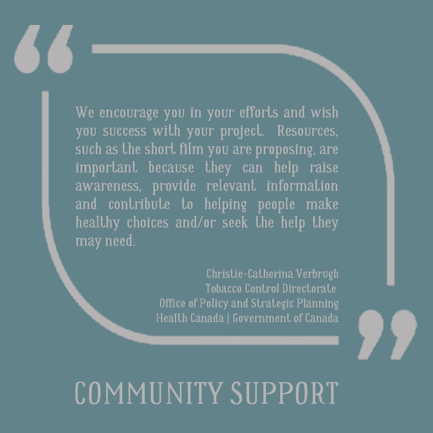 LETTER OF SUPPORT | HEALTH CANADA