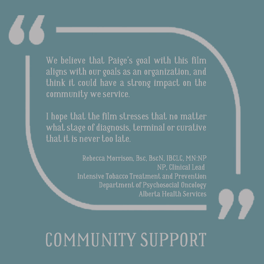 LETTER OF SUPPORT | AHS