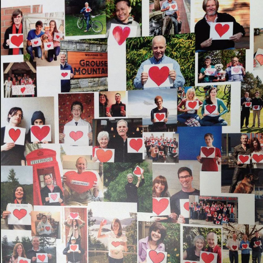 A community of hearts