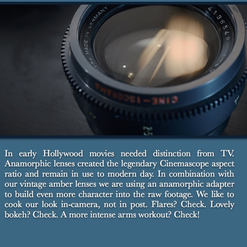 Anamorphic: Not a Choice, a Requirement