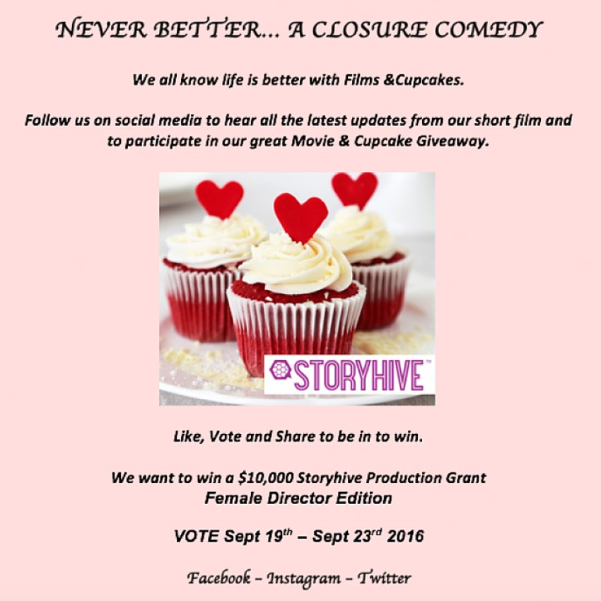 Movie & Cupcake Giveaway