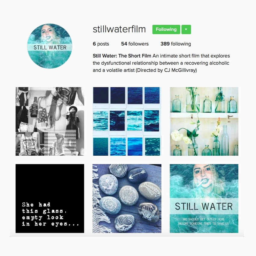 Still Water on Instagram