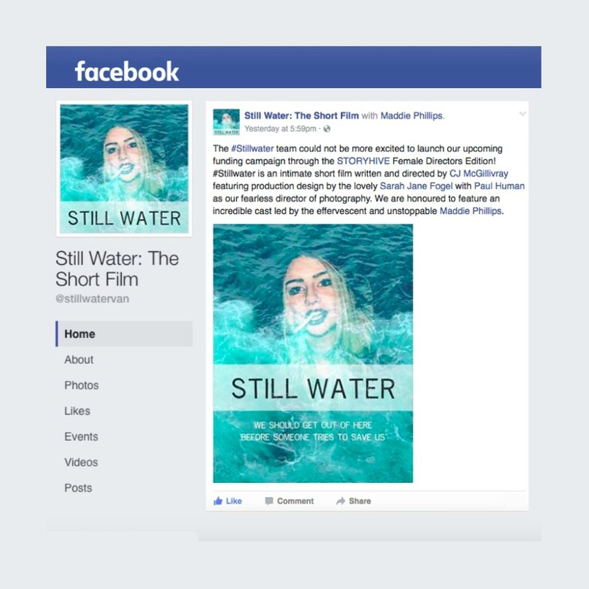 Still Water on Facebook