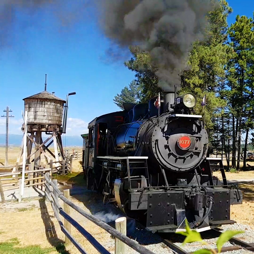 FORT STEELE STEAM TRAIN