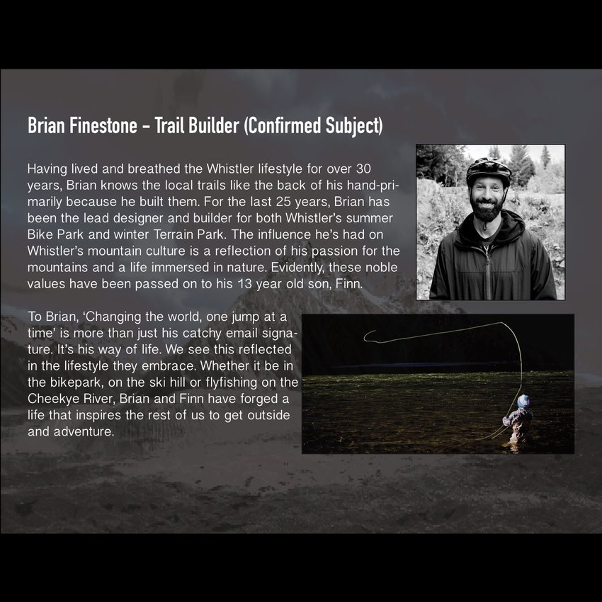Brian Finestone - Trail Builder