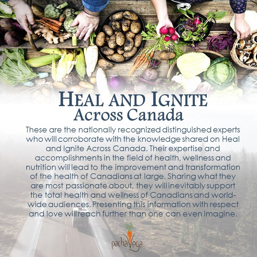 Heal and Ignite Across Canada Experts