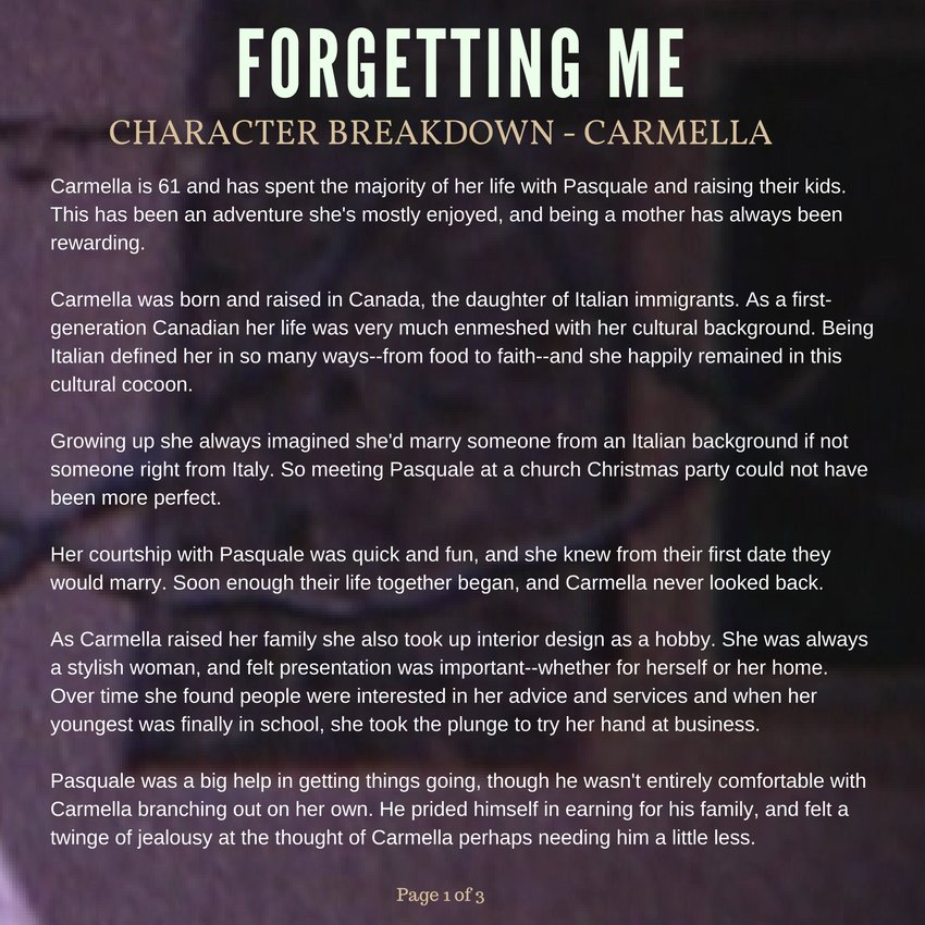 STORYHIVE - Forgetting Me Project Page