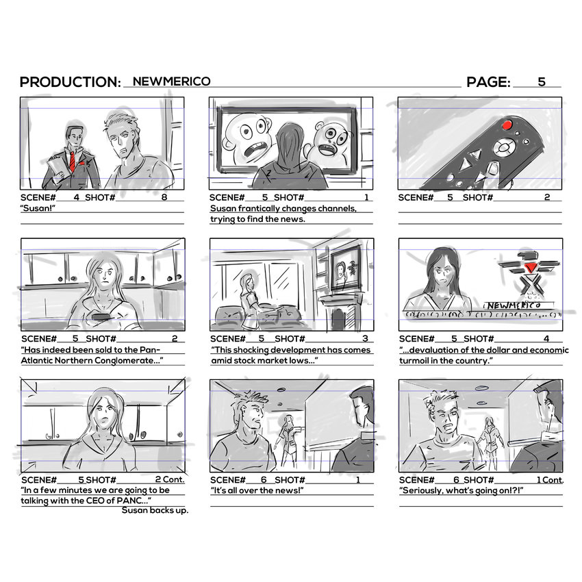 Storyboards Page 5