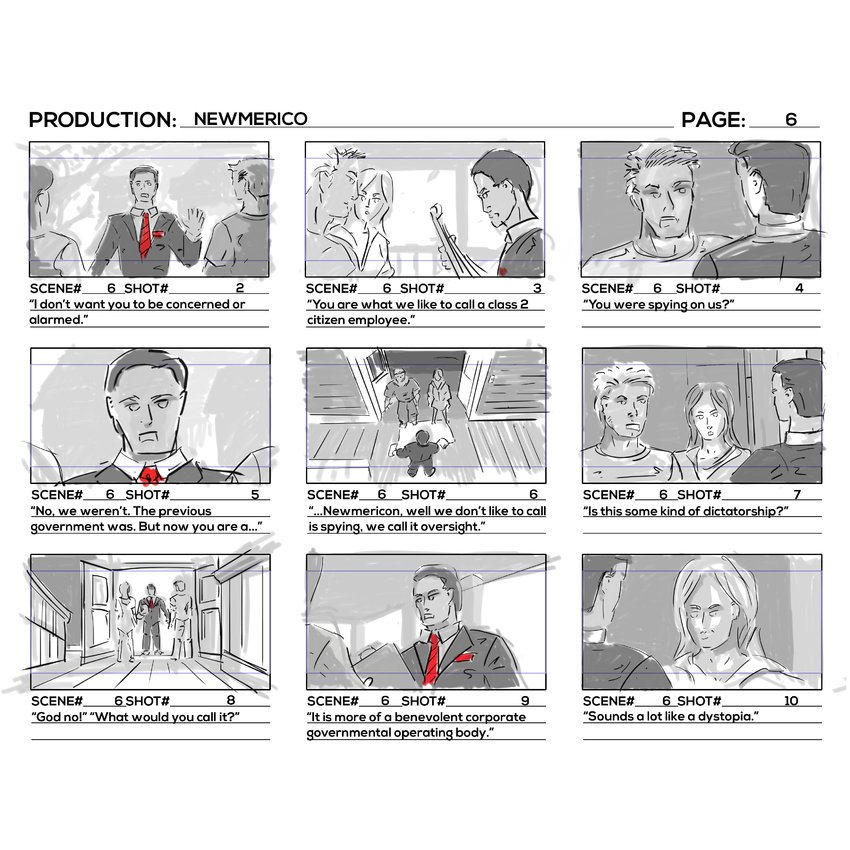 Storyboards Page 06