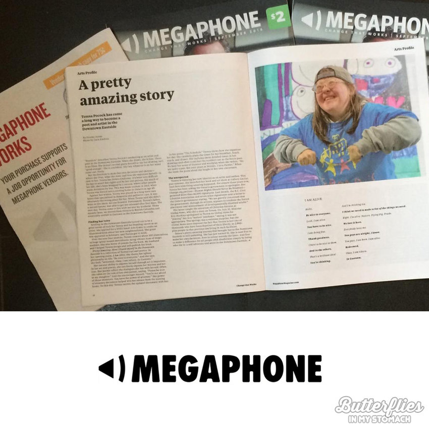 Megaphone: Voice for the Marginalized