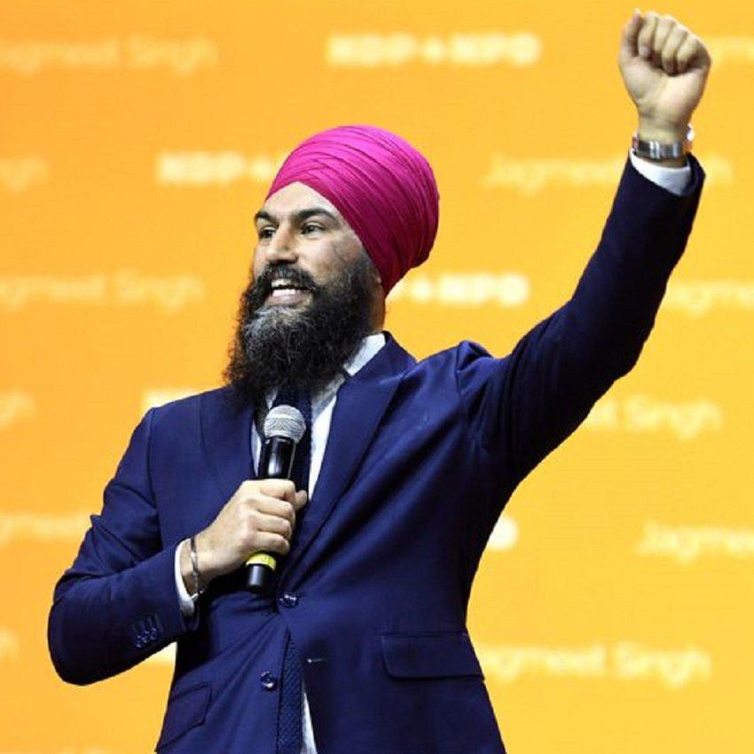 Jagmeet Singh -  Leader of Federal NDP