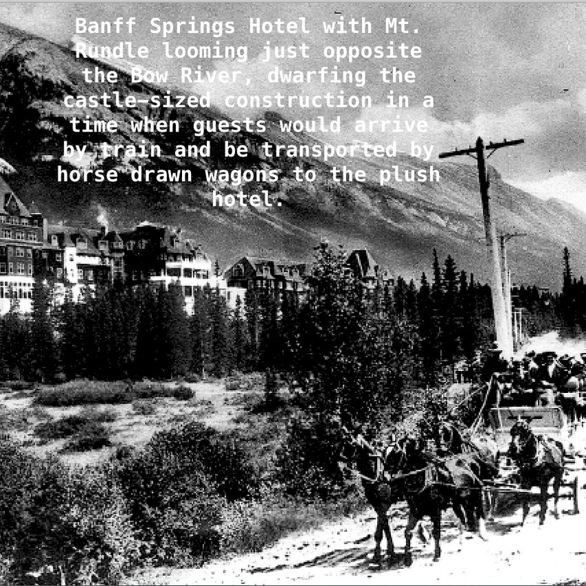 Banff Springs Hotel Ext.