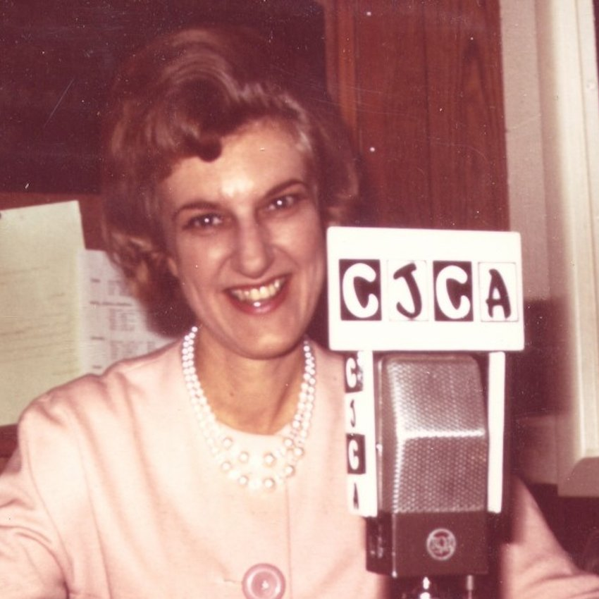 Female Pioneer of Canadian Radio