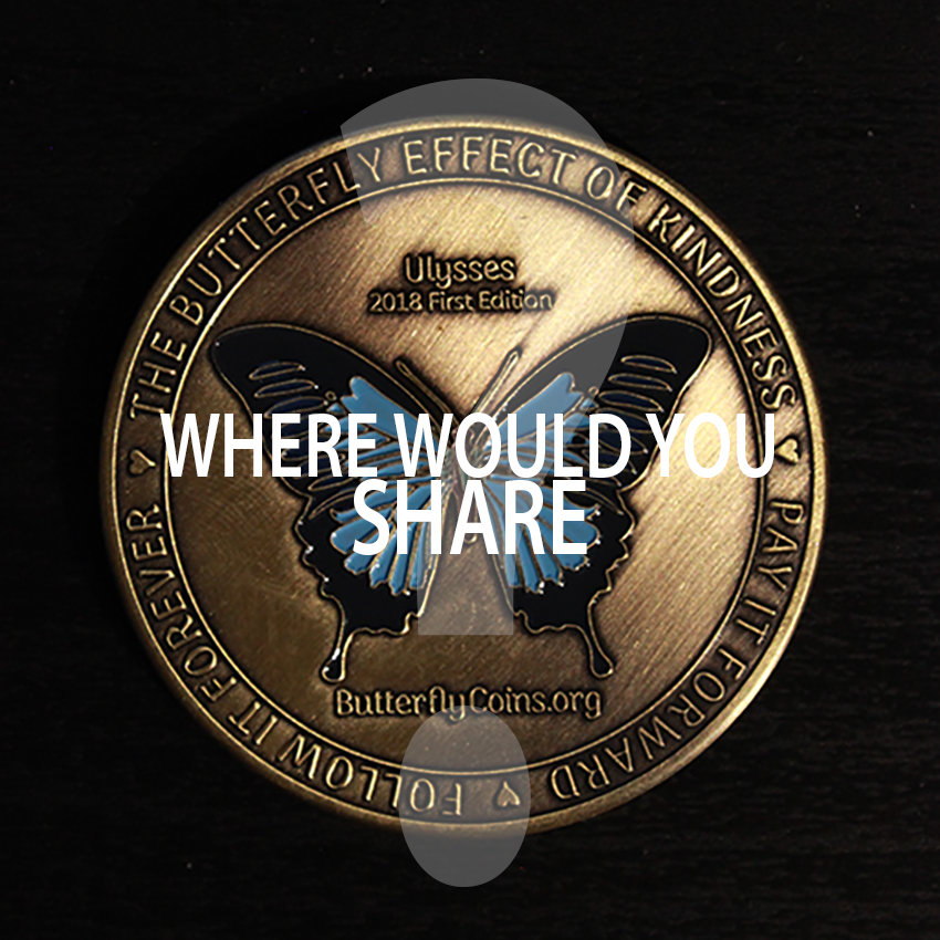 WHERE WOULD YOU SHARE?