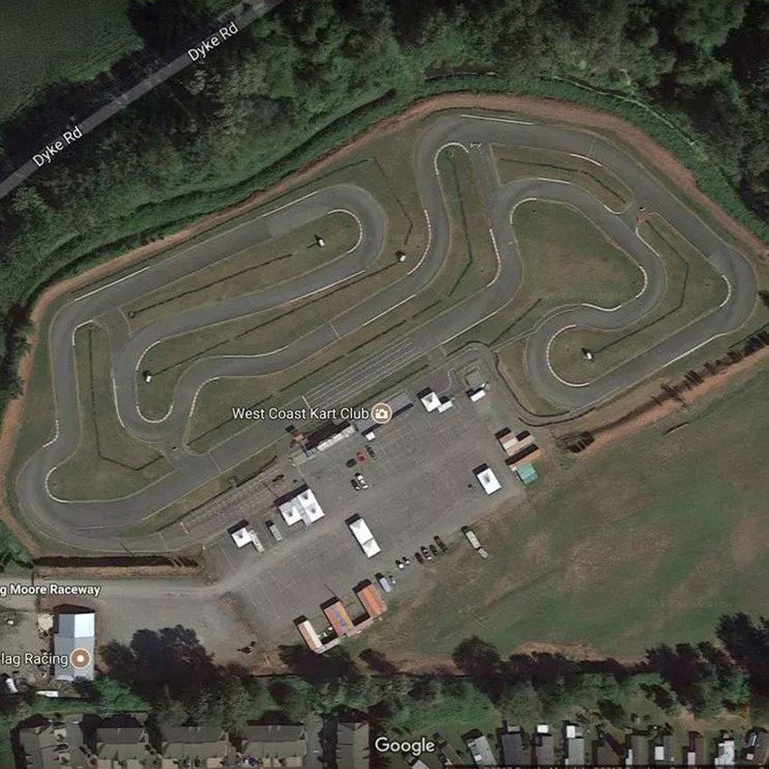 Chilliwack Karting Race track 1