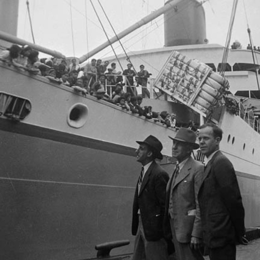 Japanese-Canadians Sent to Japan