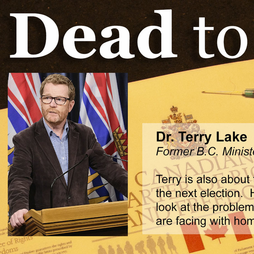 Dr. Terry Lake, former Health Minister