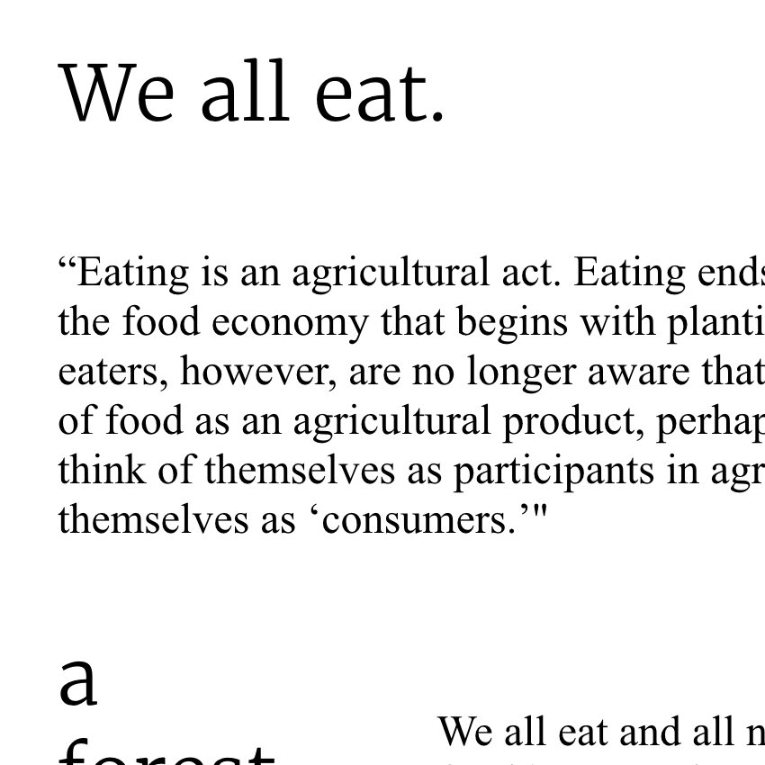 We all Eat!