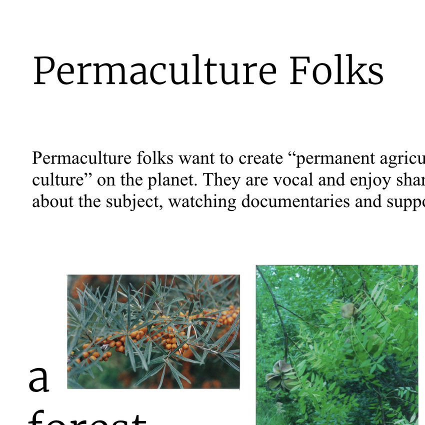 Permaculture Folks