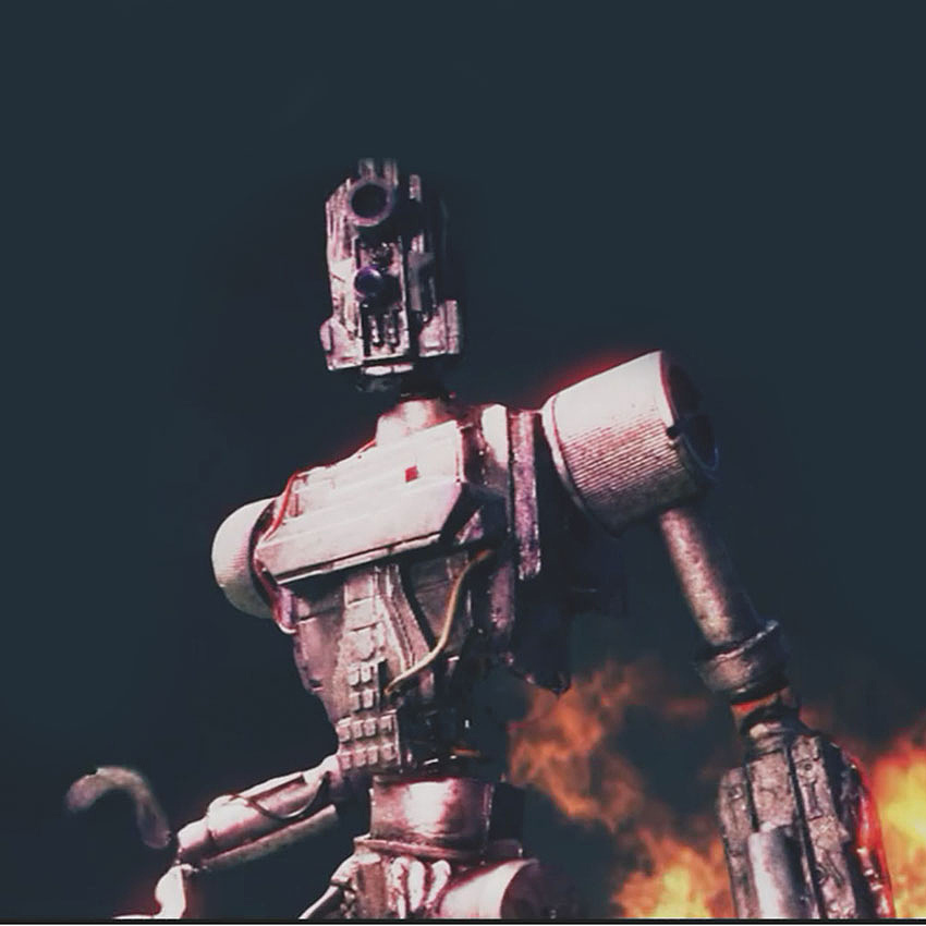 Stop Motion Robots